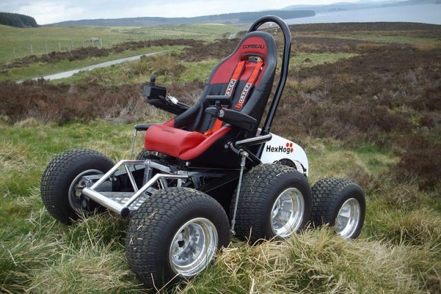 VIDEO: HexHog ATV Offers Solo Off-Road Adventure For Disabled - Off Road Xtreme