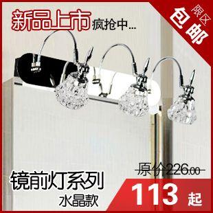 Нержавеющая сталь современный лаконичный из светодиодов нержавеющая сталь ванная зеркало лёгкие ванная фары освещение лампы