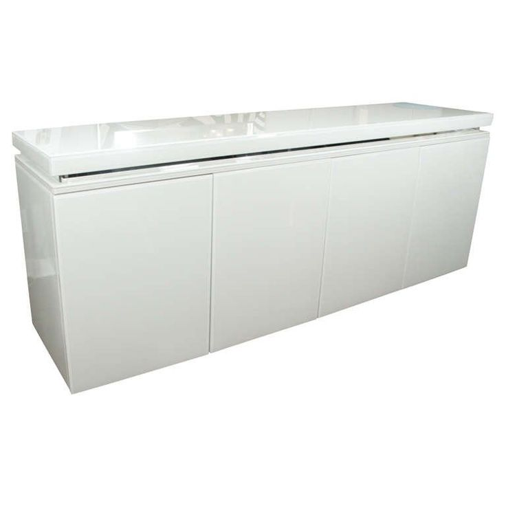 white glass furniture. reverse painted glass sideboard white furniture