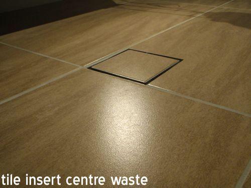 Smart Waste Floor Drain Smart Tile Insert Grate Shower