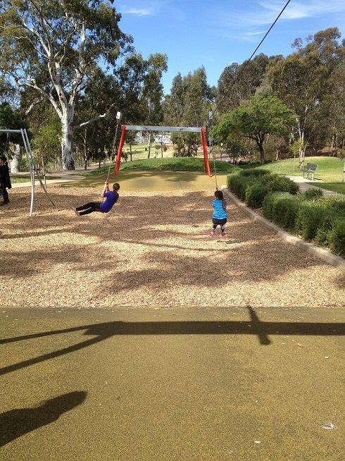 The ever popular Bonython Park - see our website to find out more about what you can find at Bonython Park including a short clip of the hamster wheel.