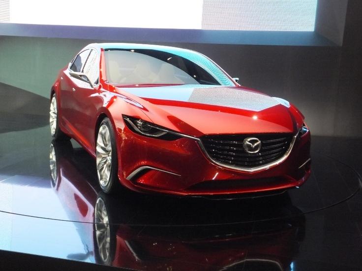 Mazda Takeri concept car  with Skyactiv-D clean diesel