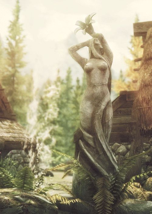 Beautiful Dibella image #Skyrim #ElderScrolls #Gif