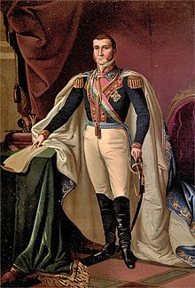 Agustín de Iturbide. also known as Augustine of Mexico, was a Mexican army general and politician. During the Mexican War of Independence, he built a successful political and military coalition that took control in Mexico City on 27 September 1821, decisively gaining independence for Mexico.