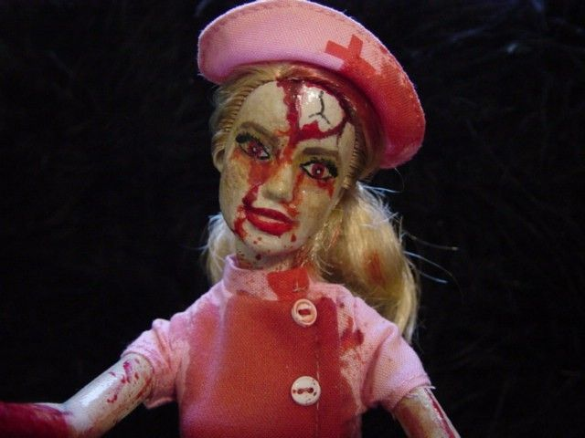75 best zombie barbies and scary dolls images on Pinterest ...