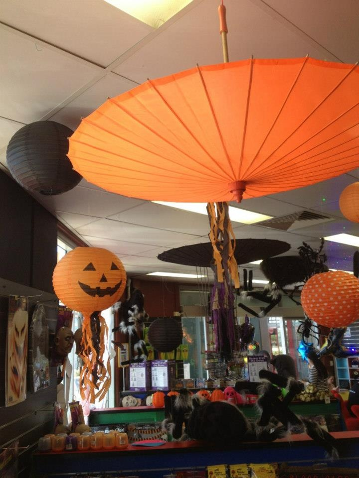 Halloween lanterns and parasols 54 best Paper