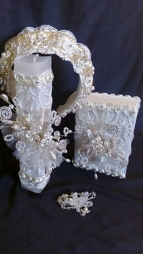 First Communion candle head Comb set de vela por FANNYCARMENDESIGN