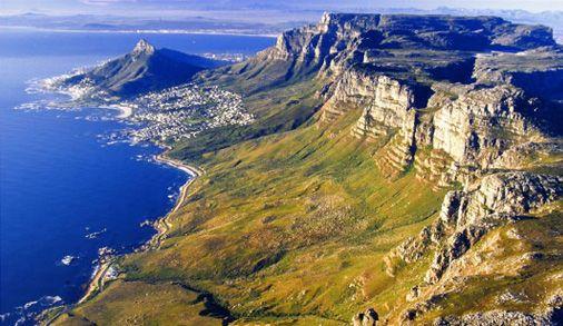 Camps Bay coastline South Africa