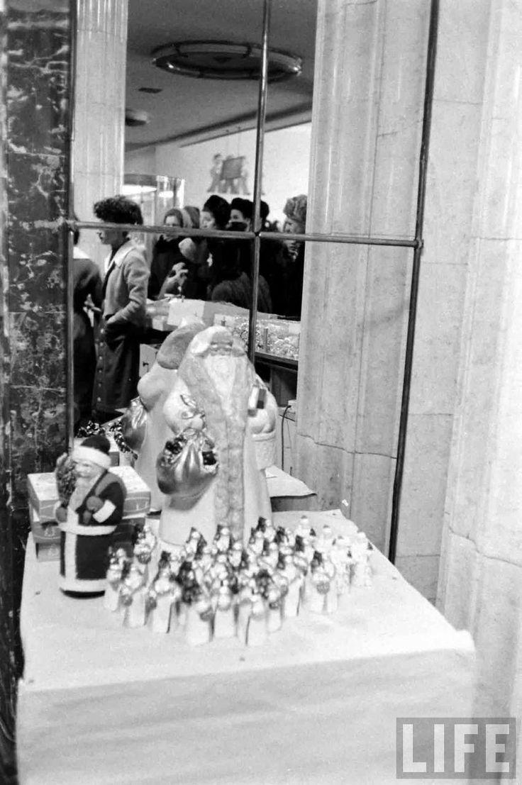Москва и москвичи. Зима 1959 года глазами Карла Миданса (журнал Life). Часть 8 - Записки скучного человека