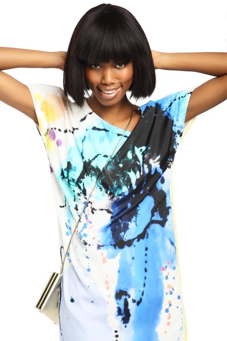 Photographer: Gavin Kleinschmidt / Stylist: Alexis Chaffe / Model: Boledi from Boss Models / Make Up: Jane Ann Wilson