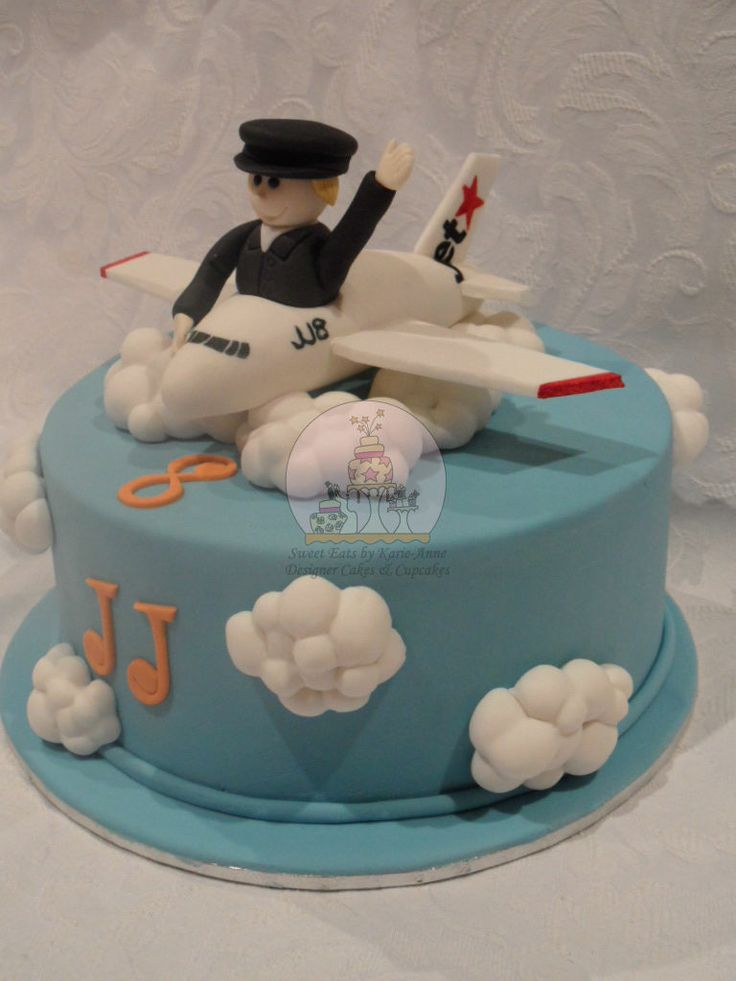 17 Best Images About Jet Plane Cakes Cupcakes Cookies