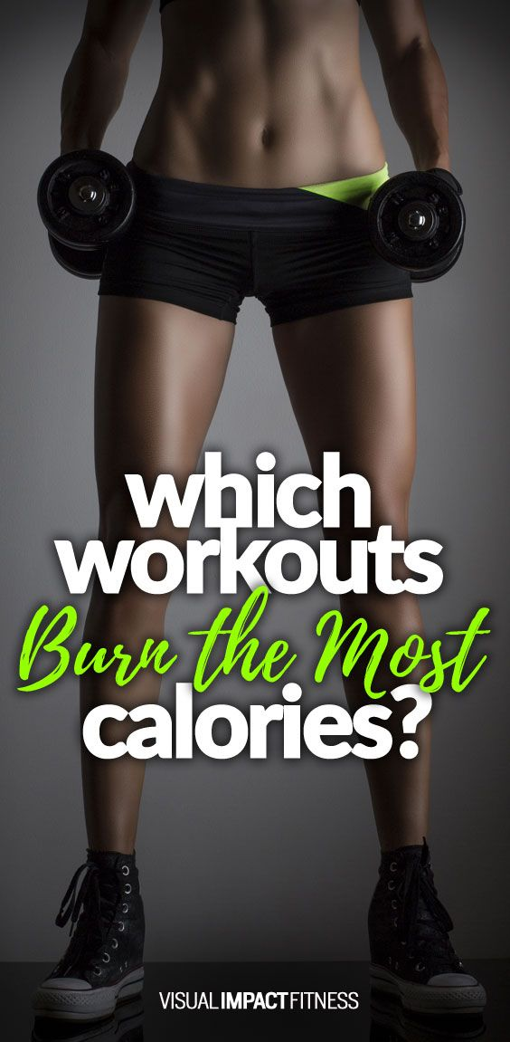 What type of training and workout burns the most calories in the gym? How about after your workout?