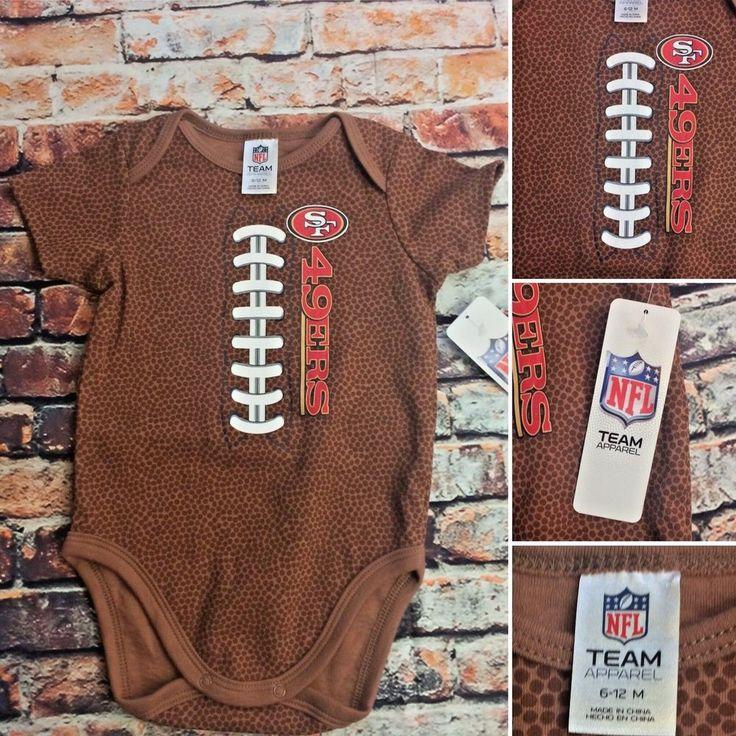 San Francisco 49ers One Piece Football Sz 6-12m NFL apparel  | eBay