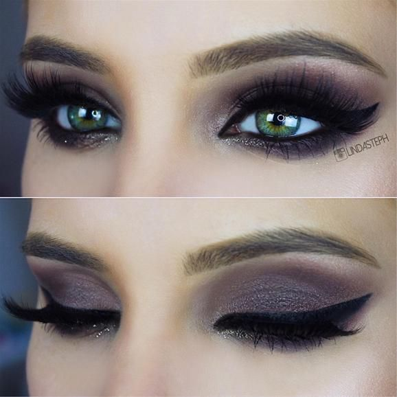 Bold Smoky Eye #smokeyeye #artistpalette #beauty