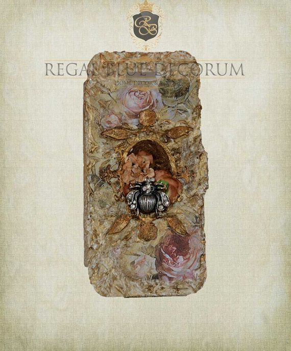 Honey Bee Custom 3d iPhone 5 Case with by ShabbyChicToVintage, $40.00