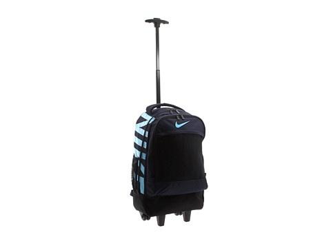 Nike Kids Rolling Backpack 2 Obsidian - 6pm.com