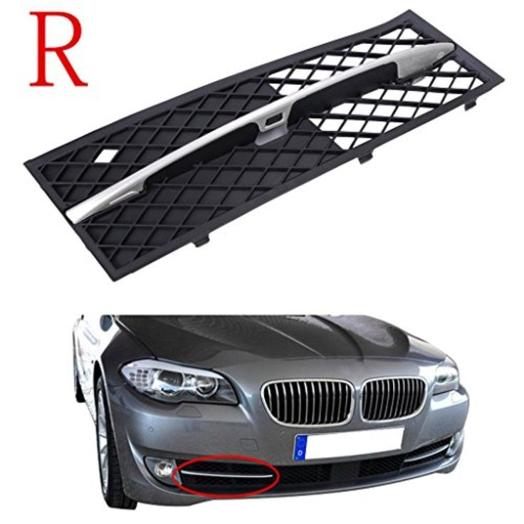 Front Bumper Partly Closed Grille For F10 F11 2009 2010 2011 2012 2013 51117200700 Right Side - Brought to you by Avarsha.com