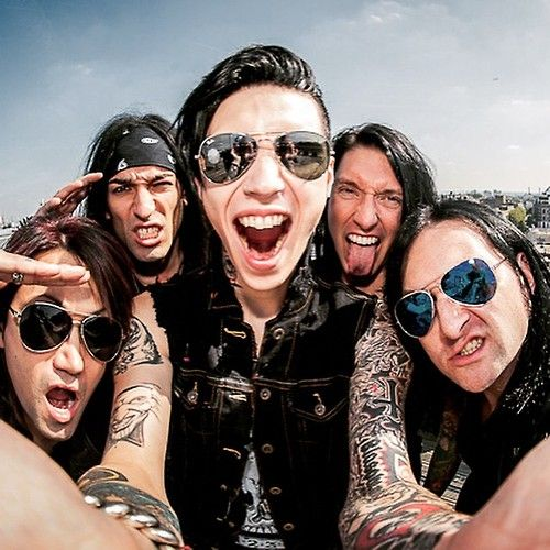 black veil brides post | Tumblr  Love these guys <3