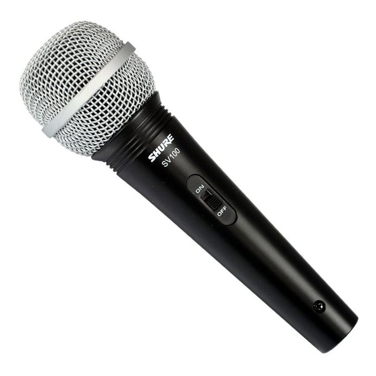Mikrofon dynamiczny SV100 Shure | Nagłośnienie \ Mikrofony \ Dynamiczne | Sprzet-Dyskotekowy.pl - największy i najtańszy sklep internetowy z oświetleniem i nagłośnieniem w Polsce
