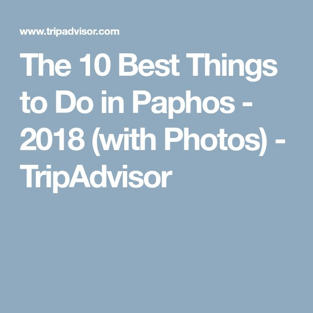 The 10 Best Things to Do in Paphos - 2018 (with Photos) - TripAdvisor