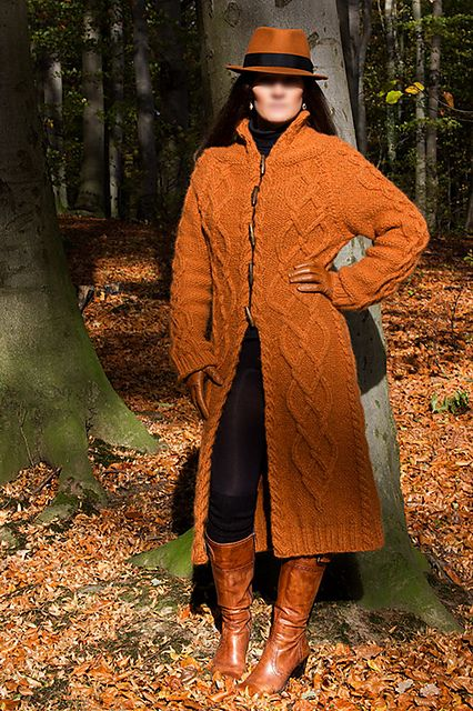Ravelry: Andarta - Celtic Cabled Coat pattern by Anna-Sophia Maré #FreePattern