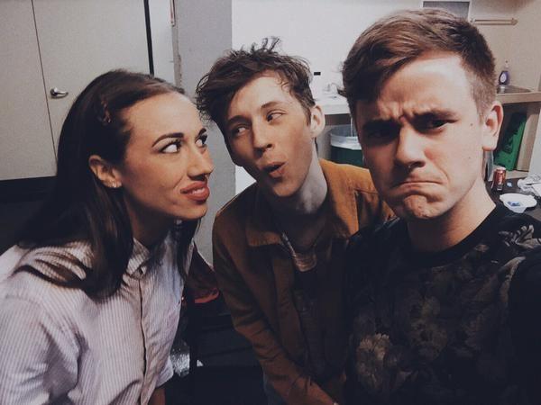 Miranda sings, Troye Sivan & Connor Franta :)