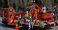 Grape Harvest Festival with children's fancy dress parade –Neuchatel, last weekend in September