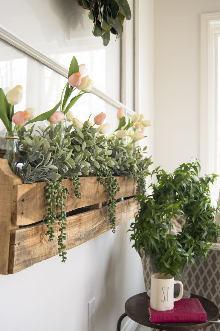 Indoor Faux Window Box Decor Diy Home Projects Faux Window