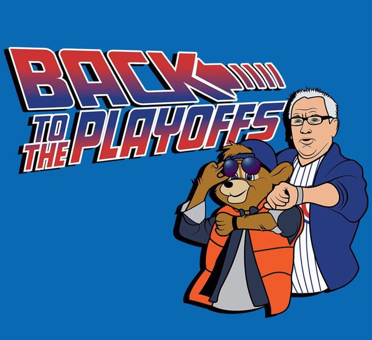 Back to the Playoffs - Chicago Cubs