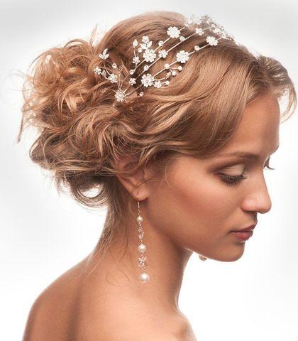 Acconciatura da sposa... fatevi consigliare da www.cinziaferri.com
