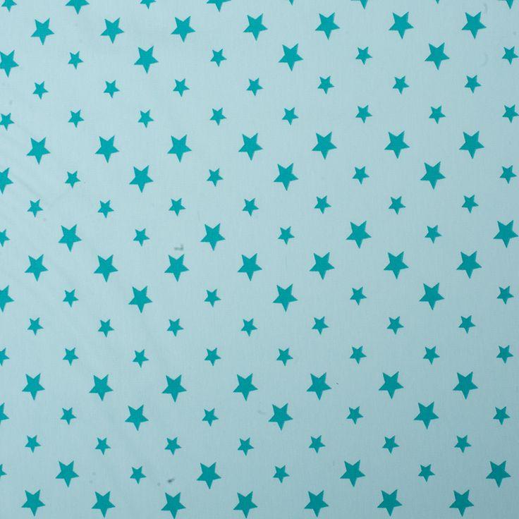 Jersey Sterne - Hellgrün / Grün