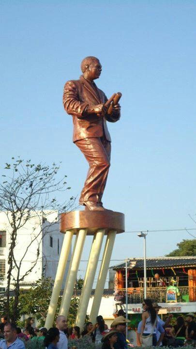 Monumento al Joe Arroyo