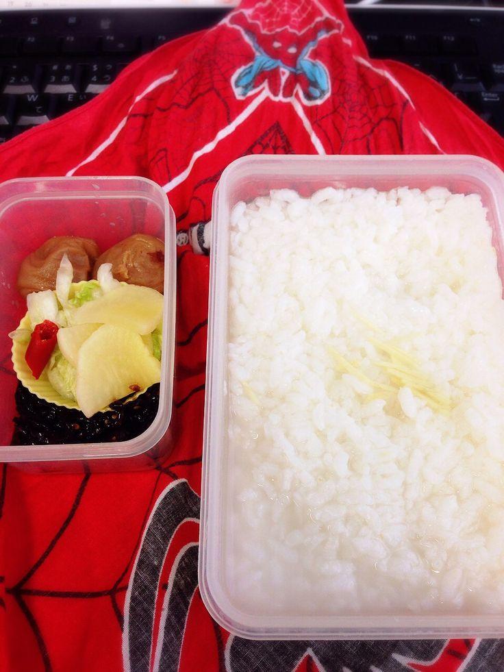 お粥 rice porridge