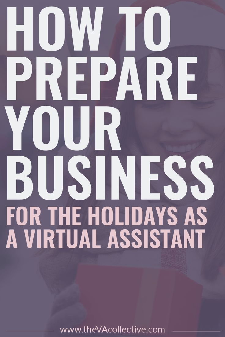 How to Prepare Your Business for the Holidays as a Virtual Assistant // The VA Collective