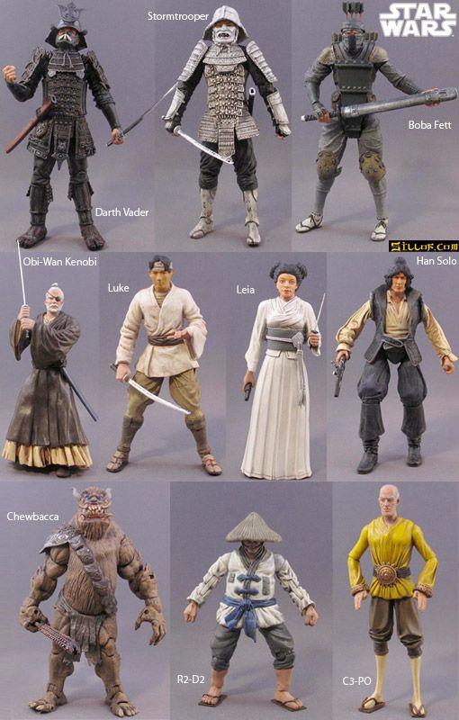 Samurai Action Figures
