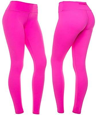 2f1f15b5dc CompressionZ Women's Compression Pants (Pink - L) Best Full Leggings Tights  for Running,