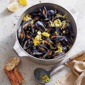how to cook fresh mussels from the beach