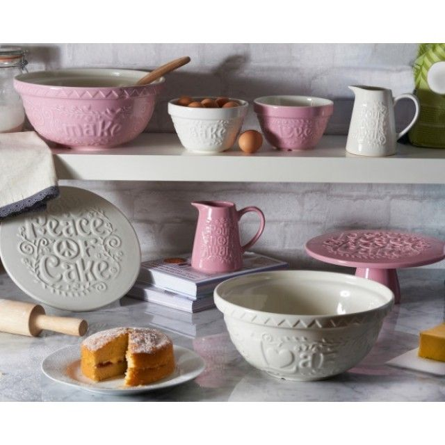 Take a look at the beautiful 'Flour Power' baking range from Mason Cash to make and display your own homemade tea time treats