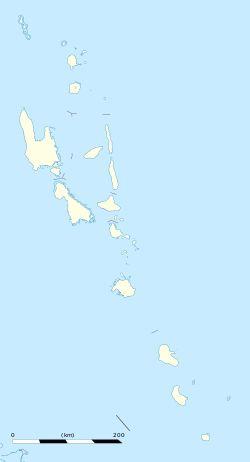 Port Vila is located in Vanuatu