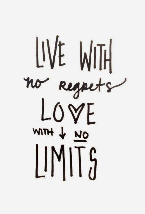vive sin remordimientos, el amor no tiene límites...
