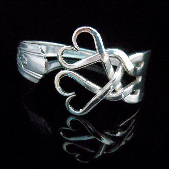 Hey, I found this really awesome Etsy listing at https://www.etsy.com/listing/77653863/silver-fork-bracelet-in-original-weaving