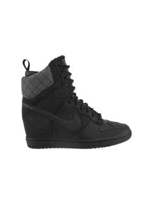 The Nike Dunk Sky Hi SneakerBoot Women's Shoe.