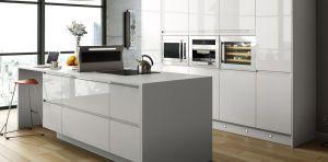 Modern White gloss Kitchen
