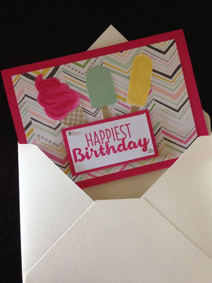 Cool treats birthday card 1