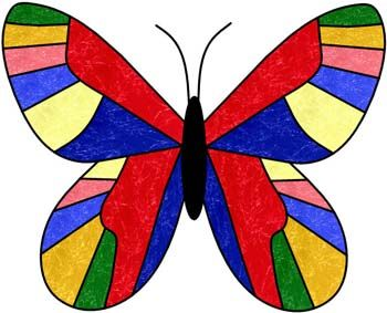 BUTTERFLY STAIN GLASS PATTERNS - Patterns Gallery