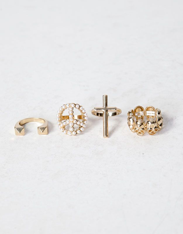 OMG! LOVE IT! ♥ #beautiful #pretty #amazing #wonderful #rings #4 #peace #love #it