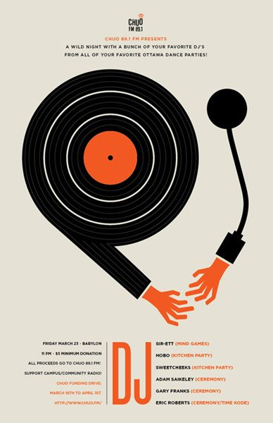 30 Groovy Gig Posters - You The Designer   You The Designer