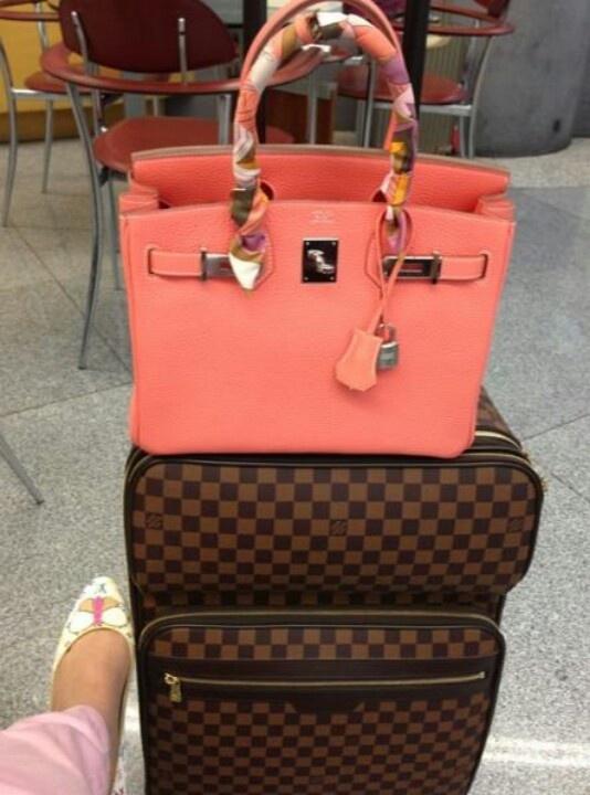 Birkin | Luggage. I so love the color!!!