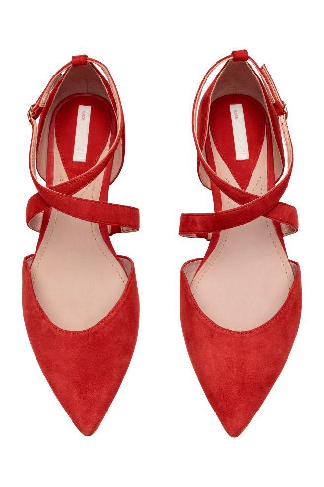 Masnis balerinacipő | Balerinacipő, Piros, Cipők