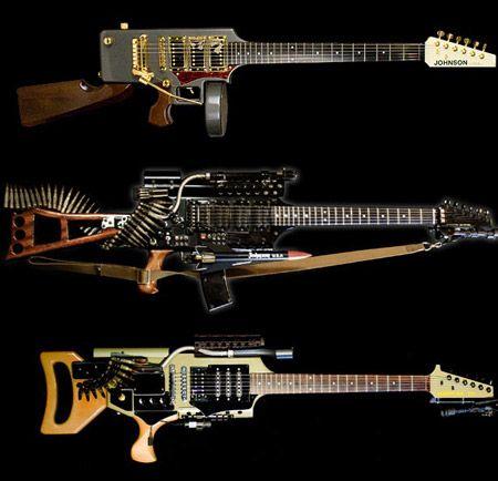 Rifle estilo guitarra